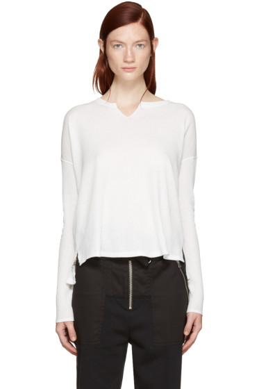 Rag & Bone - White Sienna T-Shirt