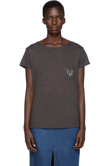 Rag & Bone - Black X-Boyfriend T-Shirt