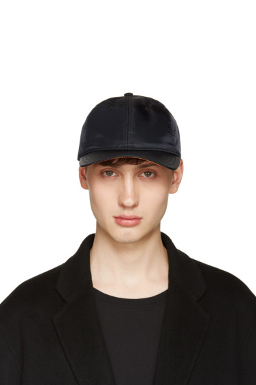 Rag & Bone - Black Nylon Baseball Cap