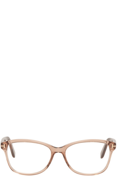 Tom Ford - Brown TF5404 Optical Glasses