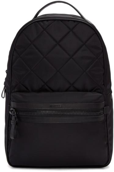 Moncler - Black Quilted Nylon Backpack