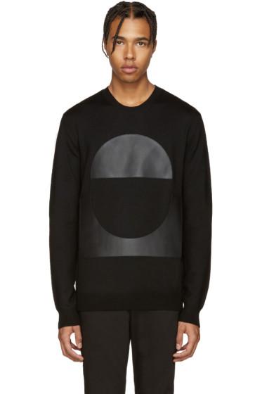 McQ Alexander Mcqueen - Black Geometric Patch Pullover