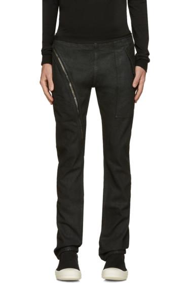 Rick Owens Drkshdw - Black Aircut Jeans