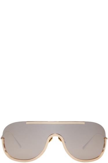 Acne Studios - Gold Mask Junior Sunglasses