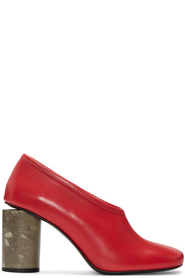 Acne Studios - Red Amy Heels