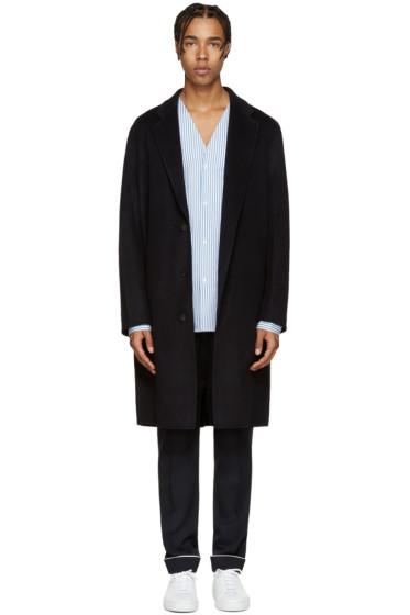 Acne Studios - Navy Wool Charles Coat