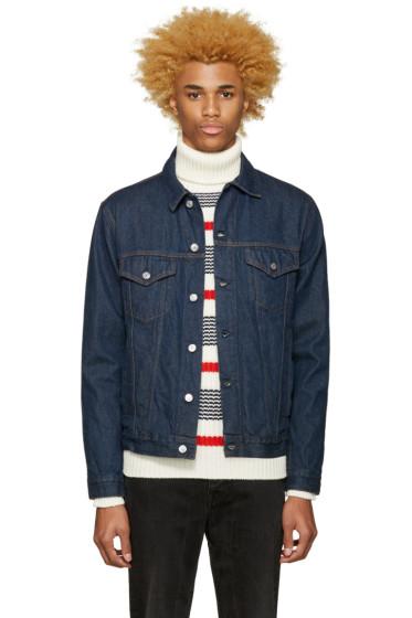 Acne Studios - Blue Denim Beat Rinse Jacket