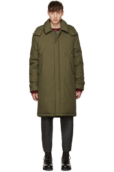 Acne Studios - Green Oversized Halifax Parka
