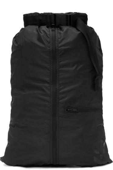 Y-3 - Black Packable Backpack