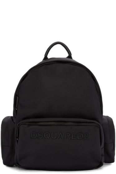 Dsquared2 - Black Logo Backpack