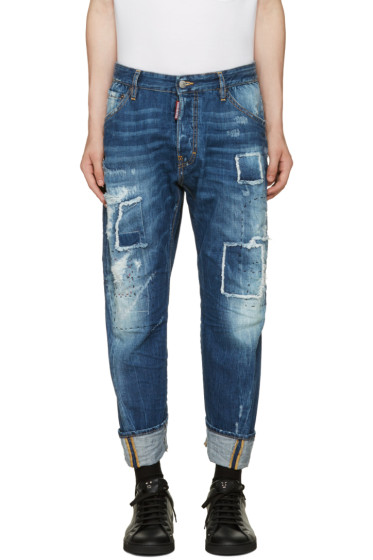 Dsquared2 - Blue Workwear Jeans