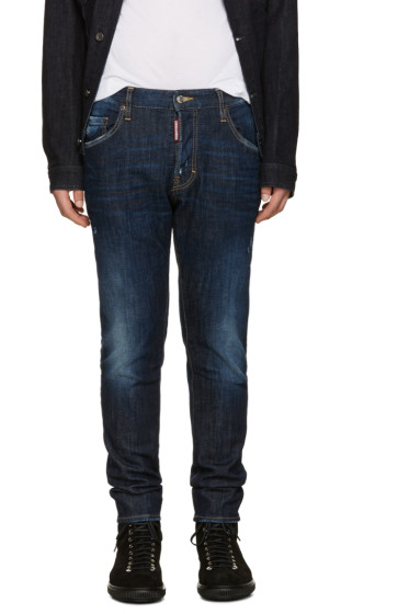 Dsquared2 - Blue Skater Jeans