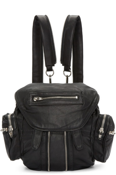 Alexander Wang - Black Mini Marti Backpack
