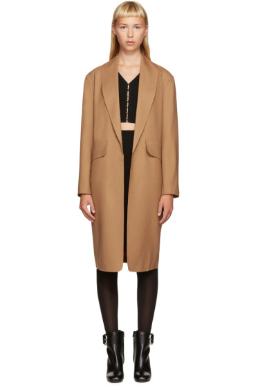 Alexander Wang - Brown Wool Coat