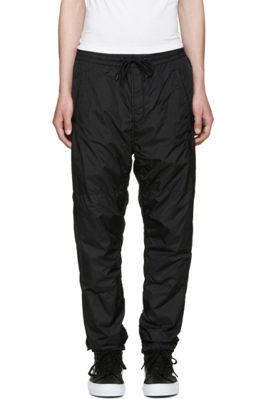 Alexander Wang - Black Embroidered Track Pants