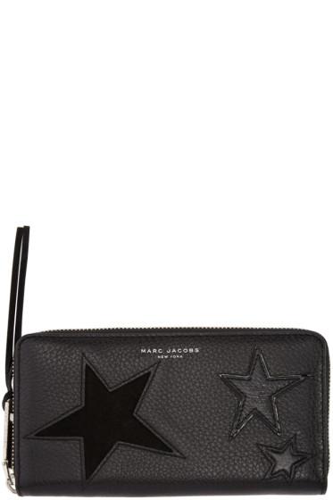 Marc Jacobs - Black Star Patchwork Wallet