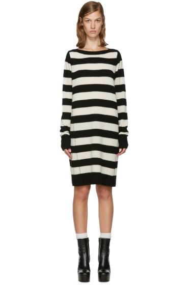 Marc Jacobs - Black & White Wool Dress