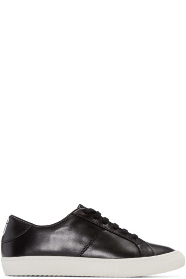 Marc Jacobs - Black Leather Empire Sneakers