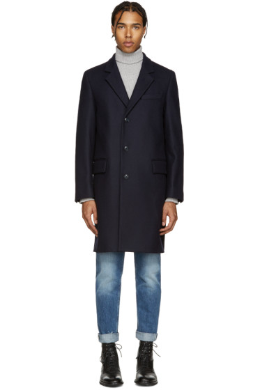 Marc Jacobs - Navy Wool Coat