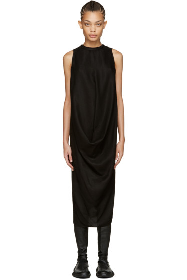 Rick Owens - Black La Brea Dress