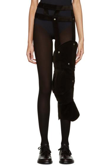 Comme des Garçons - Black Velvet Harness