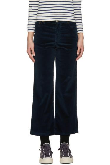 A.P.C. - Blue Sailor Trousers
