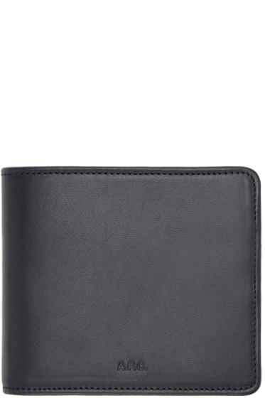 A.P.C. - Navy London Wallet