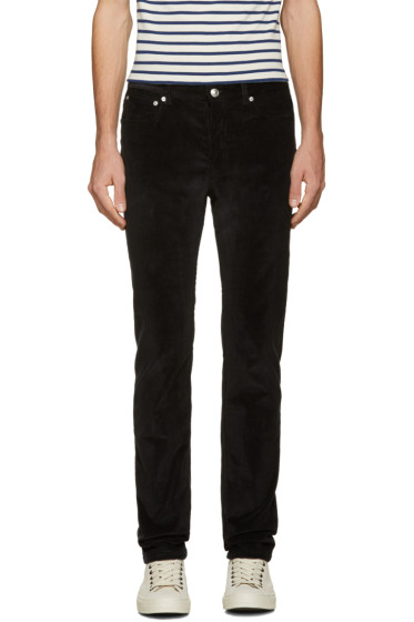 A.P.C. - Black Petit New Standard Trousers