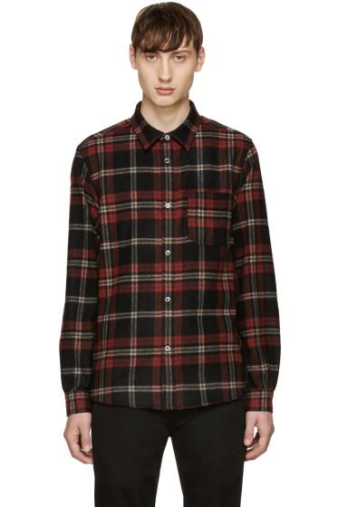 A.P.C. - Red Plaid Trevor Overshirt