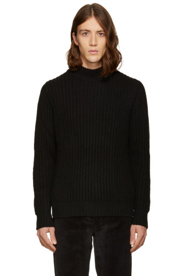 A.P.C. - Black Chuck Turtleneck