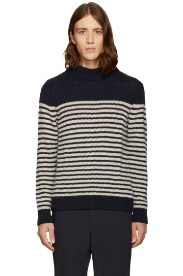 A.P.C. - Navy Haddock Turtleneck