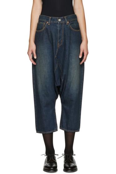 Junya Watanabe - Indigo Sarouel Selvedge Jeans