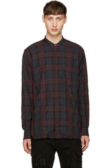 Paul Smith - Burgundy Check Shirt