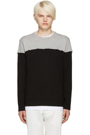 Comme des Garçons Shirt - Black Contrast T-Shirt