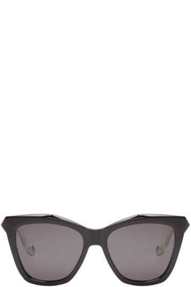Givenchy - Black Cat-Eye Sunglasses