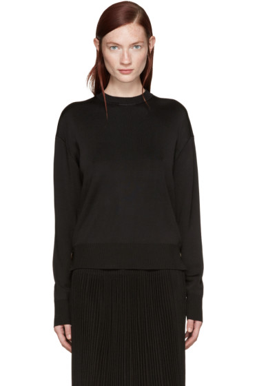 Givenchy - Black Coin Zip Sweater