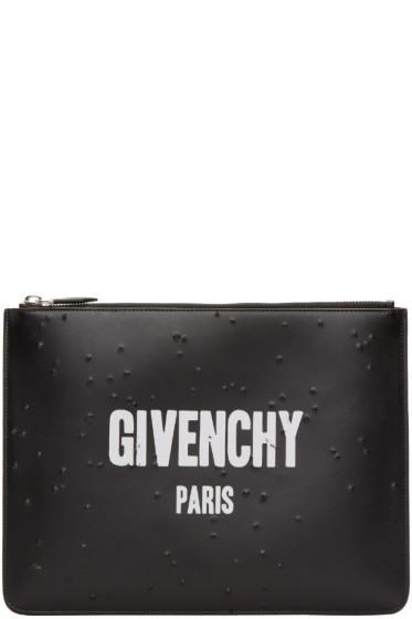 Givenchy - Black Logo Pouch