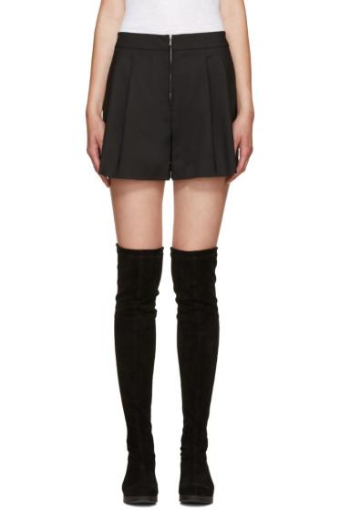 3.1 Phillip Lim - Black Zip Shorts