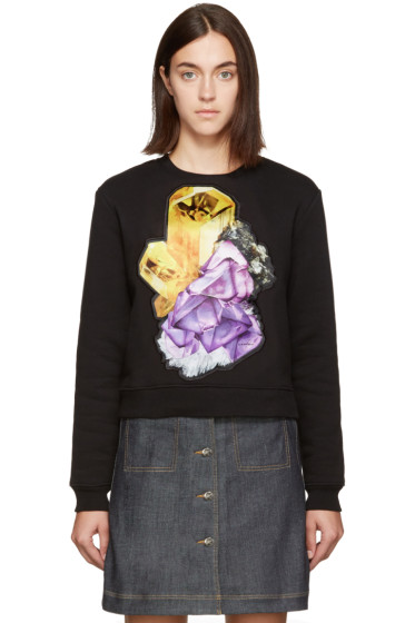 Carven - Black Crystal Sweatshirt