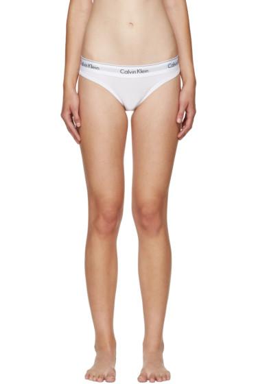 Calvin Klein Underwear - White Modern Briefs