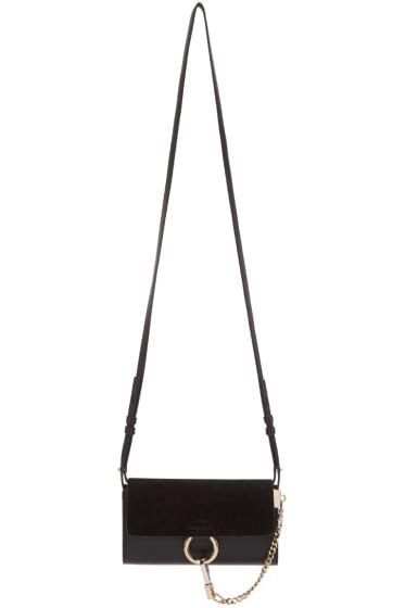 Chloé - Black Nano Faye Wallet Bag
