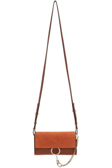 Chloé - Brown Nano Faye Wallet Bag