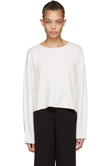 Chloé - Ivory Cashmere Sweater