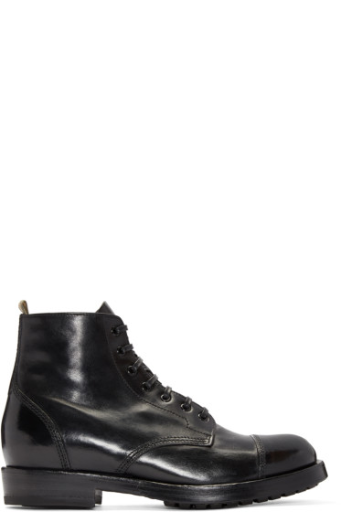 Officine Creative - Black Lowry Boots