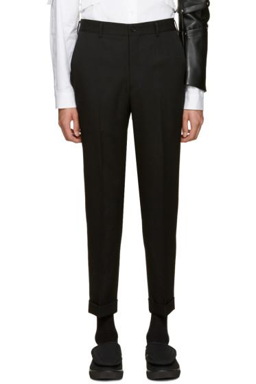 Comme des Garçons Homme Plus - Black Wool Trousers