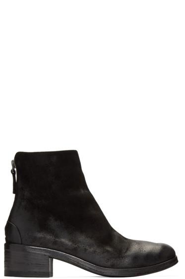 Marsèll - Black Nubuck Listo Boots