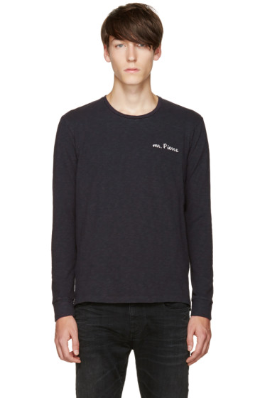Pierre Balmain - Navy 'Mr. Pierre' T-Shirt