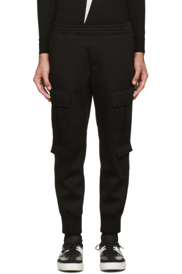 Neil Barrett - Black Cargo Lounge Pants