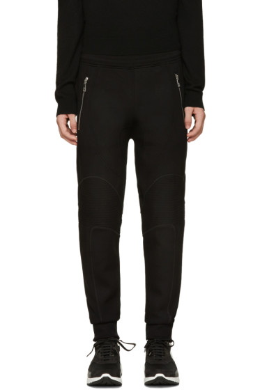 Neil Barrett - Black Biker Lounge Pants