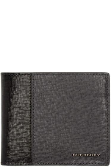 Burberry - Black & Grey Bicolor Wallet